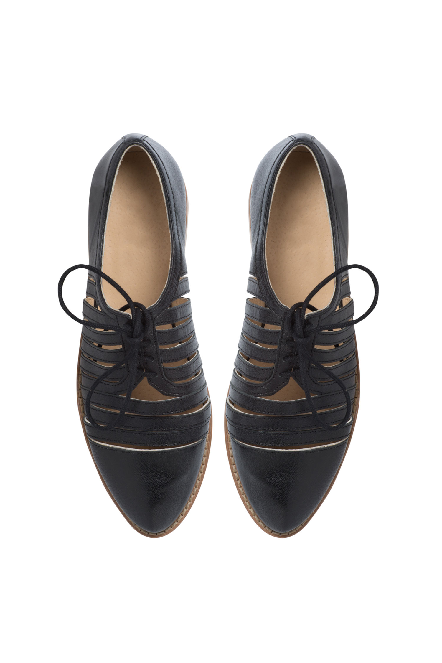 Wide Fit Leather Cutout Brogue Style Number: 137262