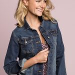 Top of Jaishree's Fashion Wishlist: Denim jackets are great for dressing up or down and this one fits really nicely!