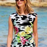 Go Green with green clothes: Capture European Floral Print Top