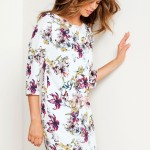 Emerge Floral Shift Dress Style Number: 144336