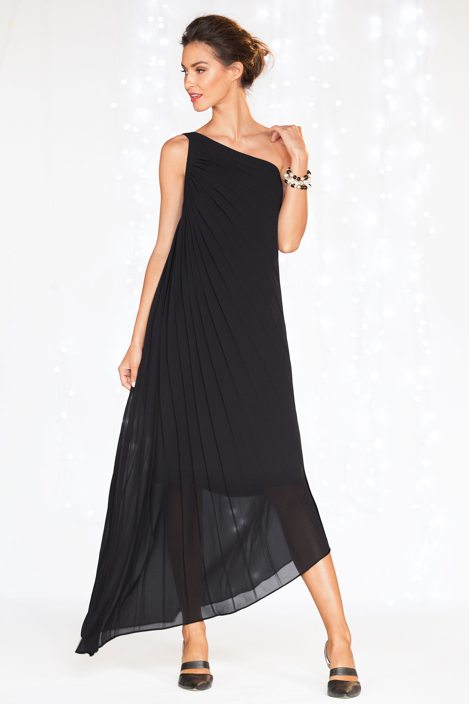 Grace Hill Asymmetrical Maxi
