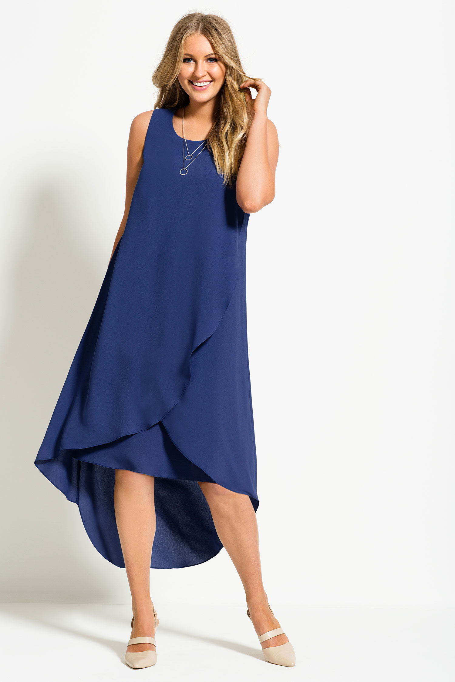 Grace Hill Woman Layered Dress