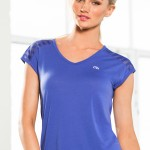Michelle Bridges Insert Mesh Tee Style Number: 148940