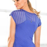 Fitness Workouts: Michelle Bridges Insert Mesh Tee Style Number: 148940