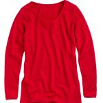 The Crew Neck that has caught Anna's eye for her Mum in Red. Style 149385