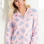 Mia Lucce Flannel PJ Top. Style 149713