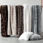 Great to throw over the end of the bed during winter. Zambesi Fur Throw, style 150108
