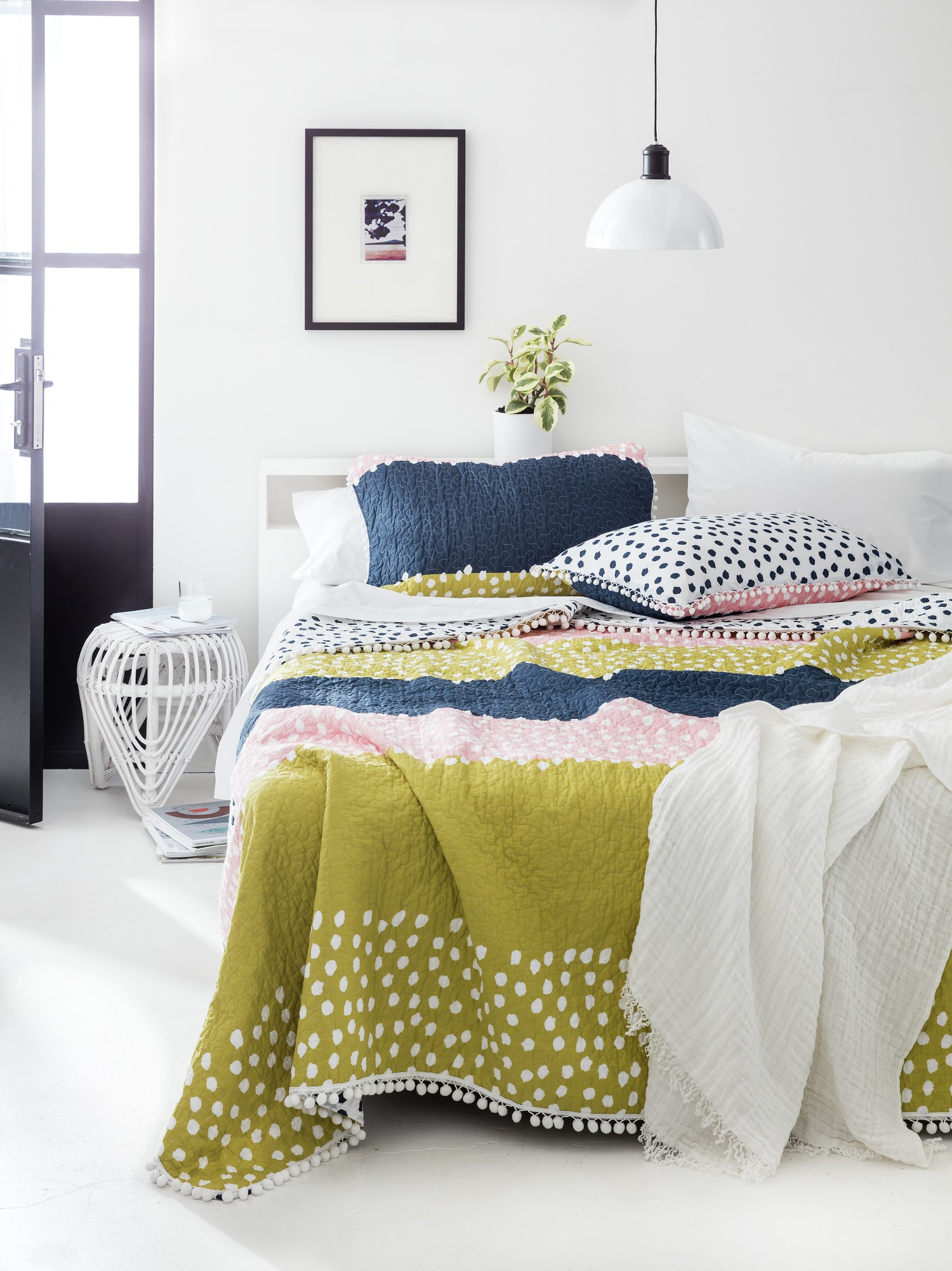 What does your home's interior design say about you? Luella Quilt