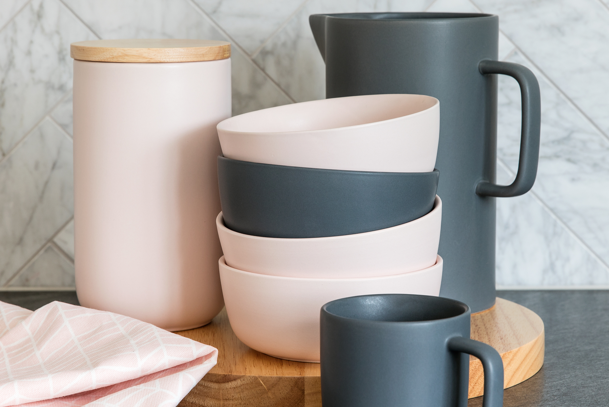 Add a touch of Scandinavia to your home with these stoneware bowls, both modern and functional they would be a great addition to any home. One interior trend for the year