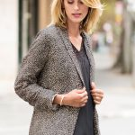 Long sleeves complete this structured yet breathable style, crafted from a light fabrication, ensuring comfortable all day wear with easy movement and trans-seasonal versatility. Capture Animal Blazer Style Number: 151303