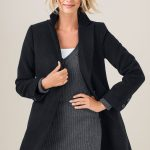 A sophisticated outer layer, this coat will take you from work to formal occasions and looks oh so chic with a knee high boot and leather gloves. Style 151467