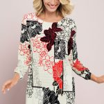 Proving florals can be rocked all year round, Capture give us their Print Tunic in stunning floral print.
