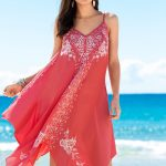 Trapeze Embroidered Cover up