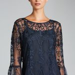 Emerge Lace Bell Sleeve Top