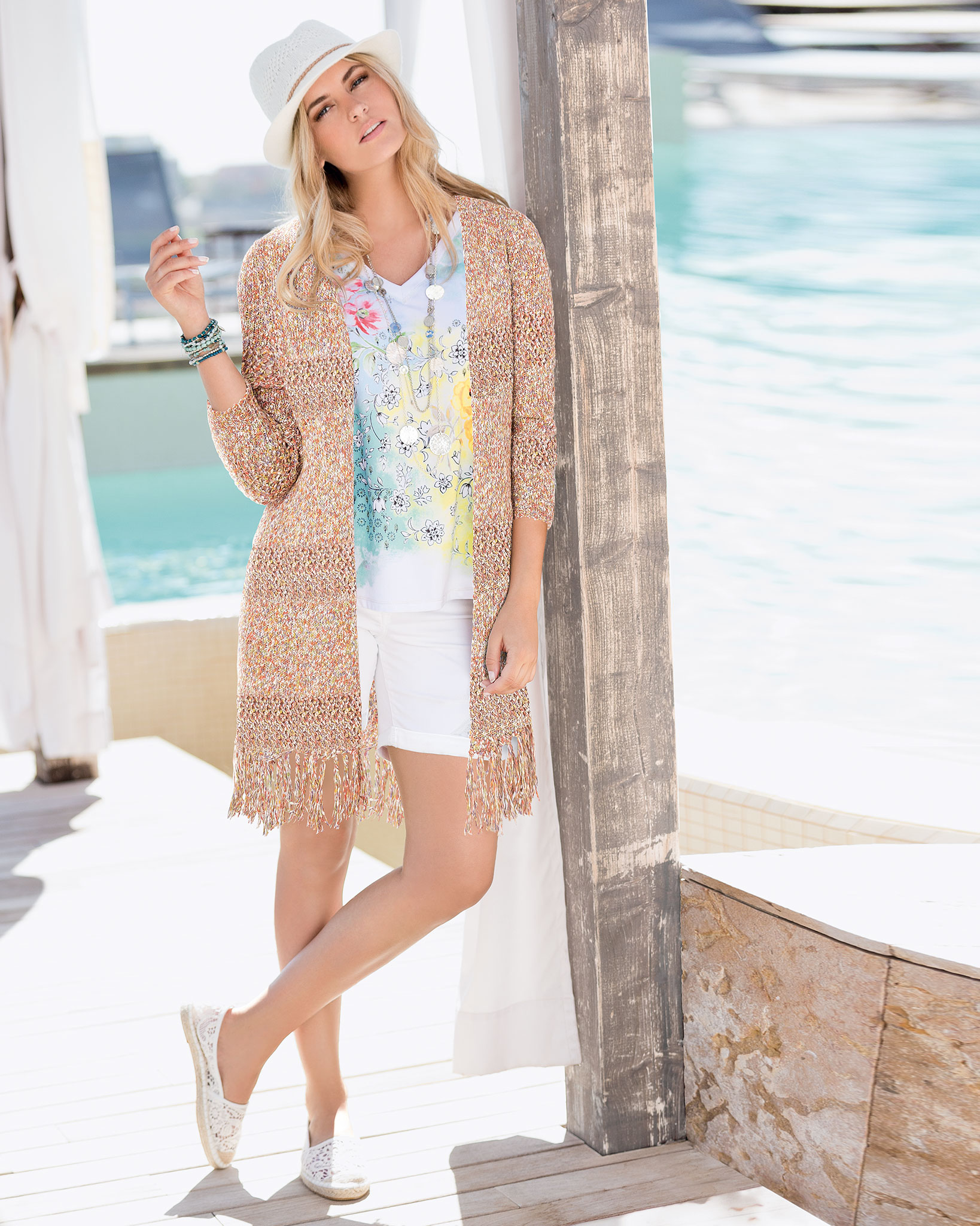 Perfect for holiday packing: Together Tassel Cardigan