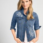 Shop Emerge Embroidered Denim Jacket