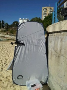My change room on Coogee Beach