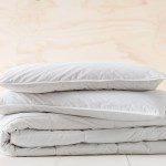 300 thread count cotton outer with 850gsm silk filling. Silk has unique properties: hypoallergenic, light weight, breathable, moisture wicking, and insulating; resulting in a regulated sleep temperature and better nights rest. Search for the Silk Fill Pillow Inner online now - 91897