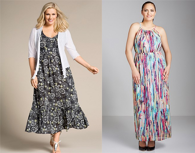 Evans Daisy Maxi Dress | Sara Cut-Away Maxi Dress