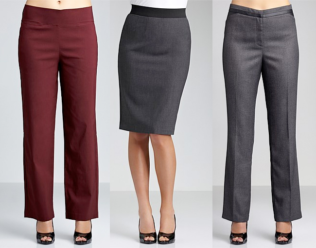 Pull On Pants | Pull On Straight Skirt | Tweed Pants