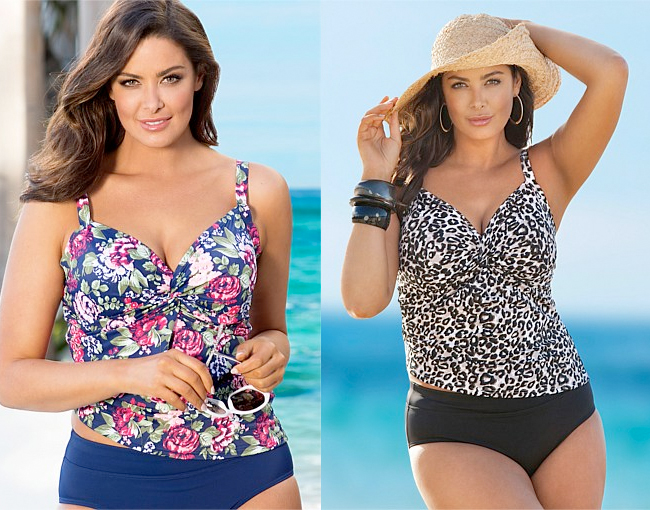 Sara Twist Tankini Top | Sara Twist Tankini Top