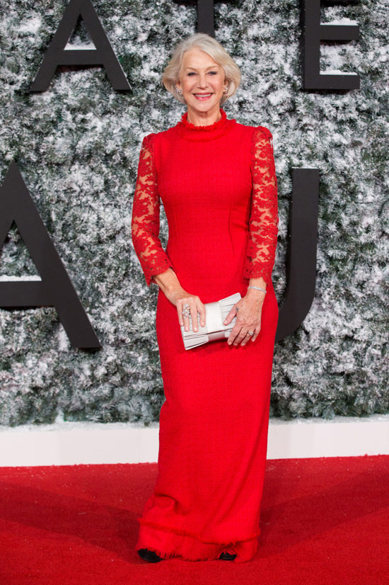 160276, Helen Mirren attends the 'Collateral Beauty' European film premiere in London's Leicester Square. London, United Kingdom - Thursday December 15, 2016. Photograph: © Photoshot, PacificCoastNews. Los Angeles Office (PCN): +1 310.822.0419 UK Office (Photoshot): +44 (0) 20 7421 6000 sales@pacificcoastnews.com FEE MUST BE AGREED PRIOR TO USAGE