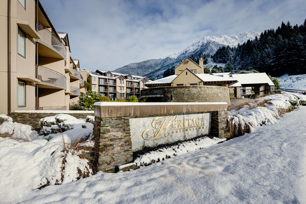 Queenstown in Winter at the Heritage Hotel