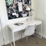 Pin Board and Desk for your kids bedroom
