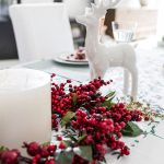 Red and Green Christmas Tableware