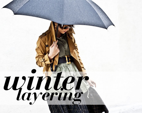 How to dress for winter - layering