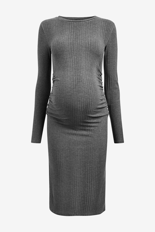Next_Maternity_Ribbed_Jersey_Dress_Detail_1_10355148849182