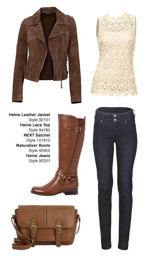 Winter outfit ideas in earthy tones from EziBuy