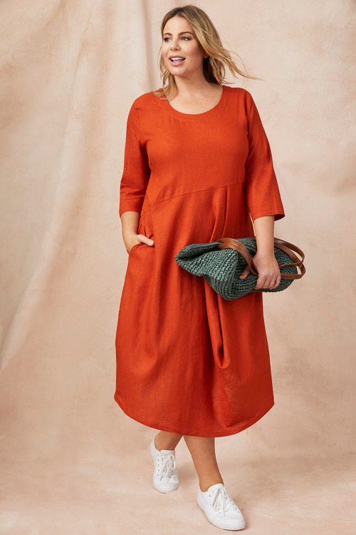 Sara_Linen_Blend_Drape_Dress_Detail_1_10289679073310