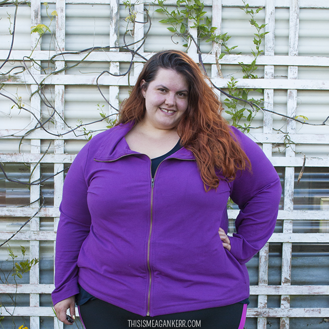 This is Meagan Kerr Activewear | Sara Roll Neck Sweat