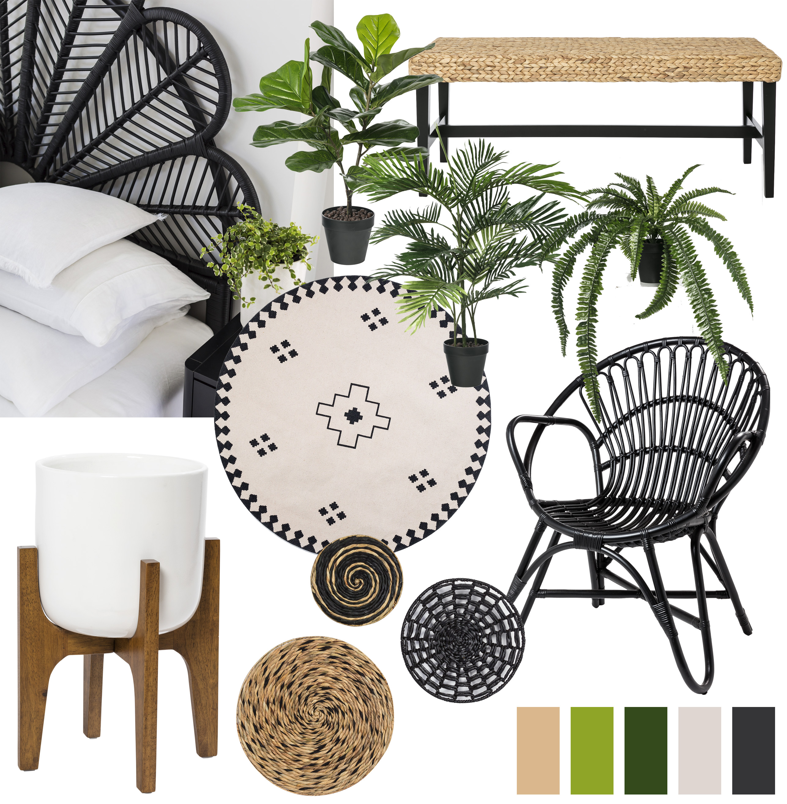 Tropical Oasis Homewear Board