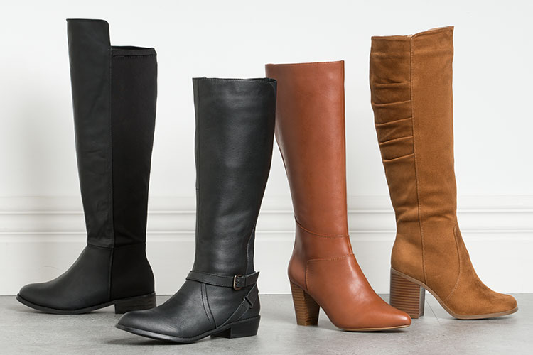 Boots that fit. Find styles that compliment your figure and fit well.