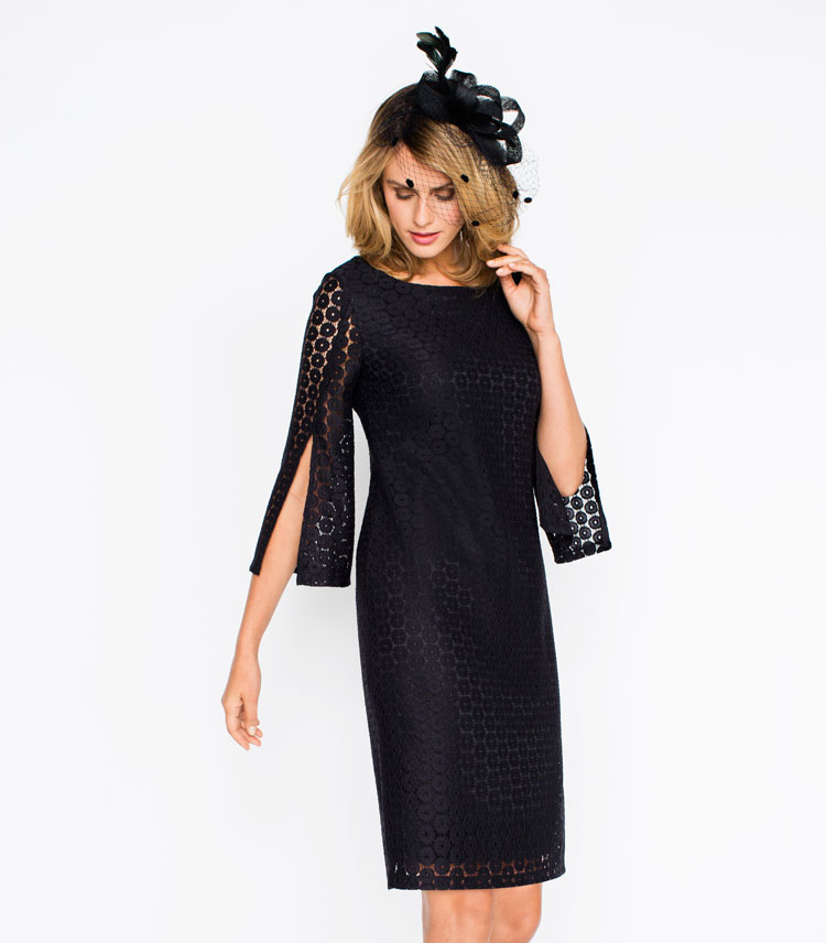 Capture Split Sleeve Dress