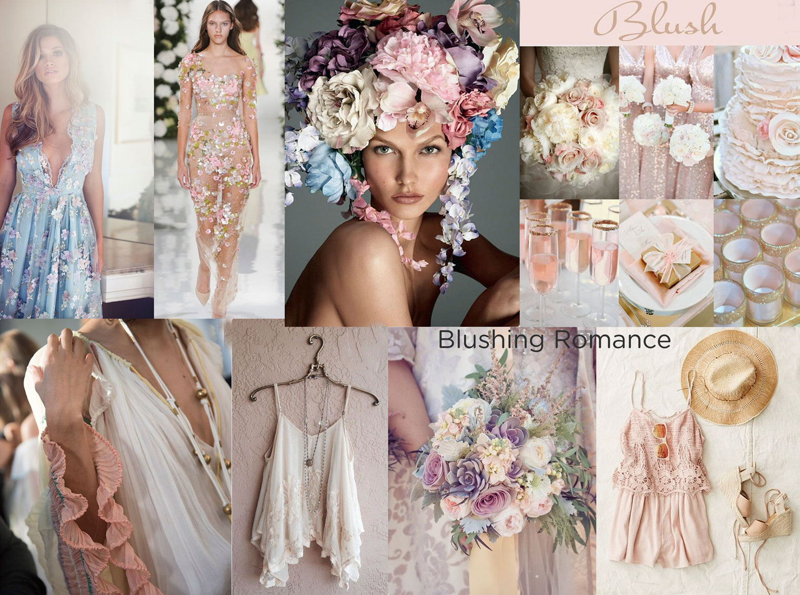 Blushing Romance - the moodboard for our Together Trend Focus