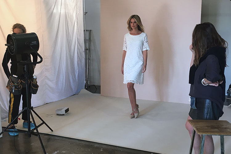 Behind the Scenes at our Spring Photoshoot
