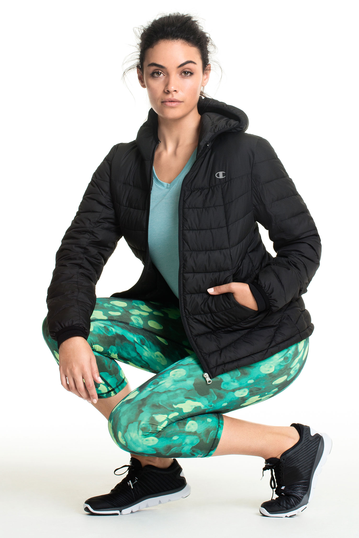 Champion: Performance wear that emphasizes comfort and fit. Designed with the latest fabric technologies and detailing - training has never felt so good. Shop Jacket, Top and Pants.