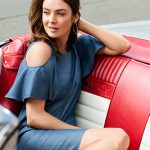 Denim Ruffles: Summer Trend