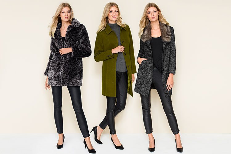 Faux leather pants are perfect for a Winter's night out or to a Saturday afternoon activity