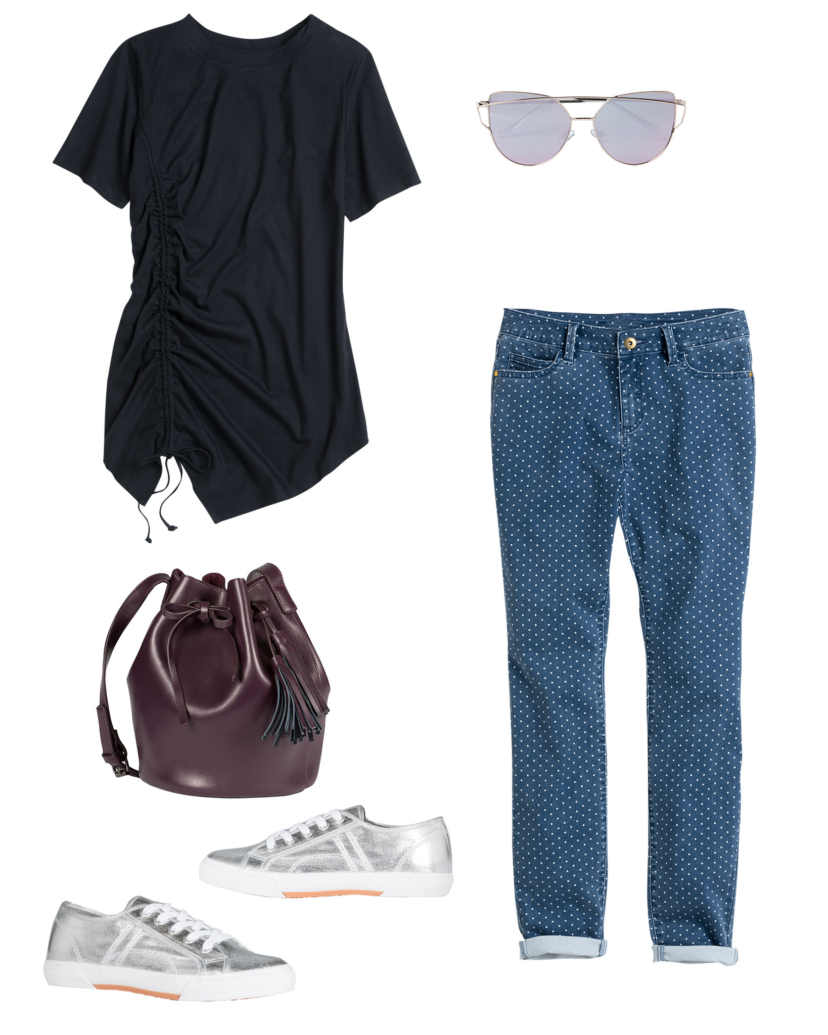 Casual Weekend Outfit featuring spots