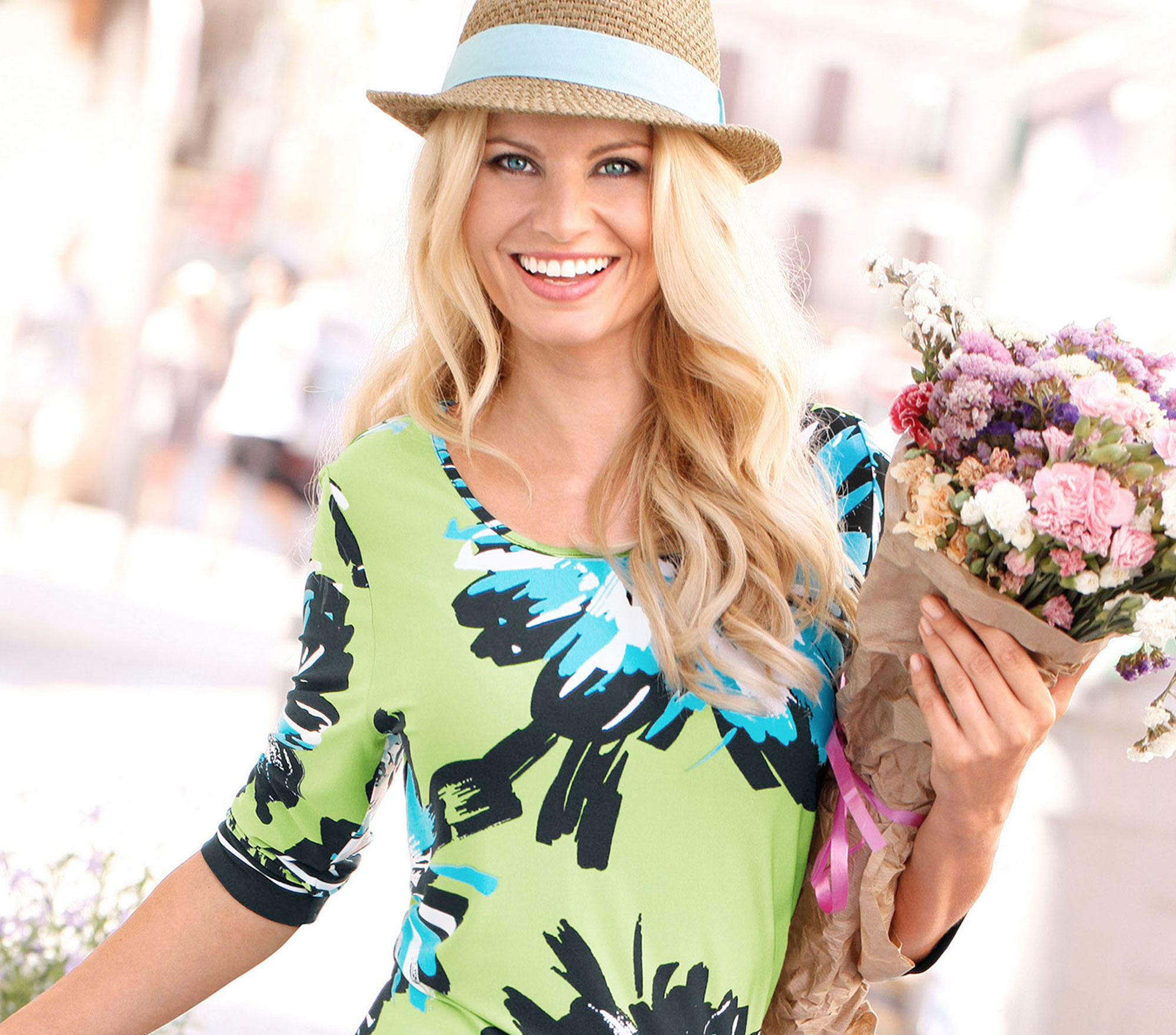 Go Green with fresh and colourful clothing