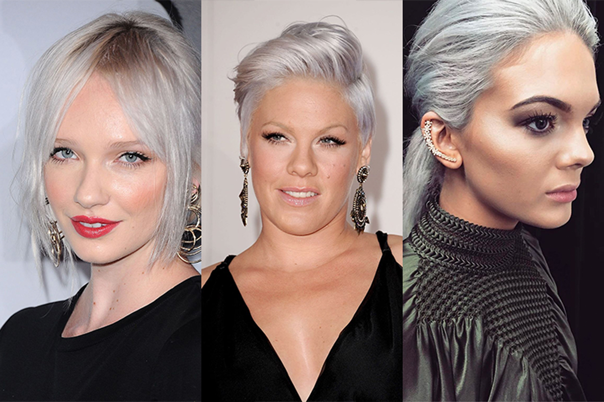 Hair Trends for Winter 2017 - Grey Hair