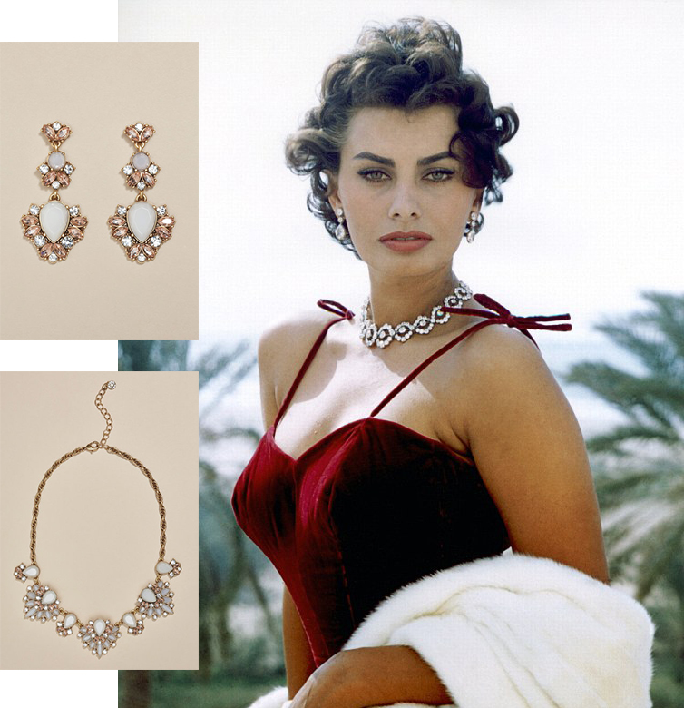 Sophia Loren in Next Jewellery