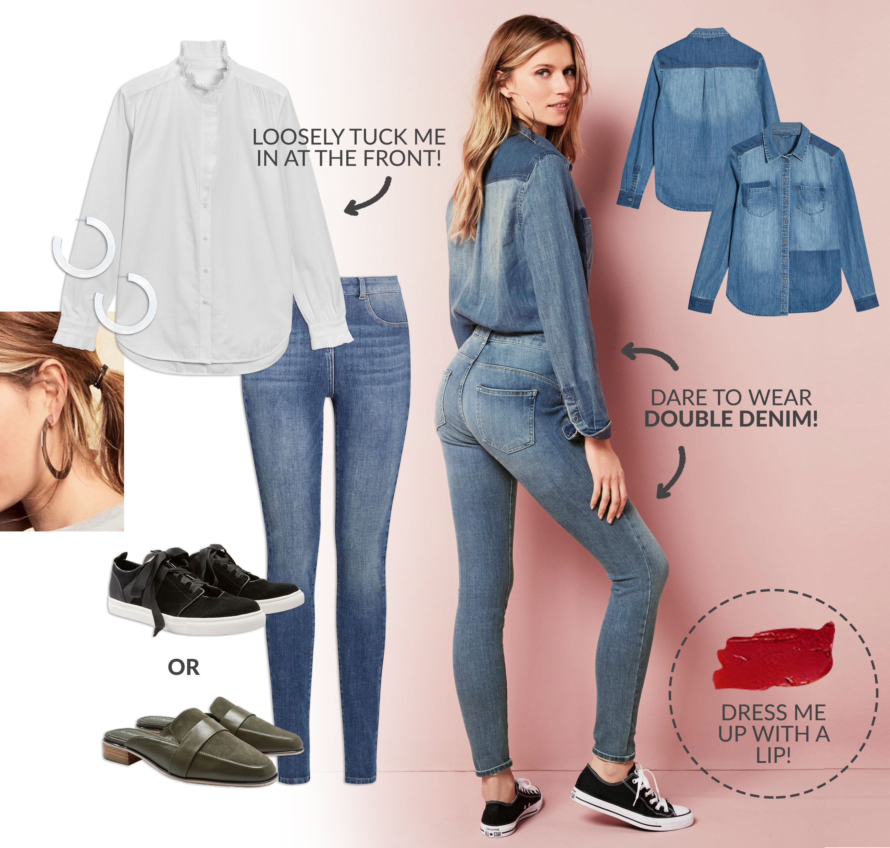 NEXT 360 jeans light wash look