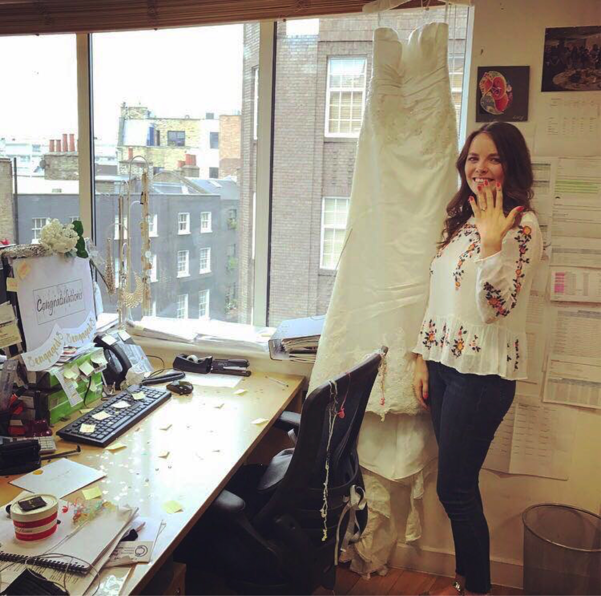 Lucy from the Together Team - Engaged!