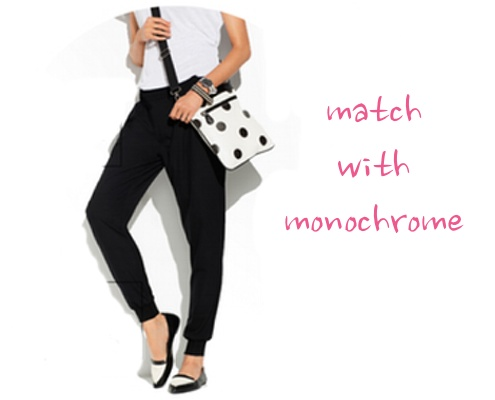 match with monochrome