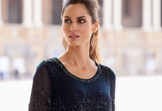 Beautiful and blue - the Together Collection features the Beaded Top